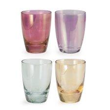 Chez Elle 4 Piece Luster Shot Glass Set