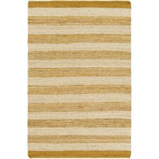 Portico Lexie Hand-Woven Gold/Natural Area Rug