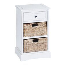 Calais 1 Drawer Chest with 2 Basket by Breakwater Bay