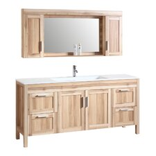 71 Single Bathroom Vanity Set with Mirror by Legion Furniture