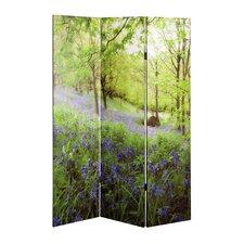 3-tlg. Raumteiler Frühling Paravent, 180 cm x 120 cm