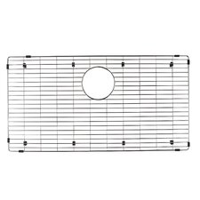 "Precis 15"" x 29"" Stainless Steel Sink Grid"