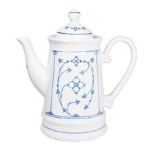 1,3 L Kaffeekanne Blau Saks aus Porzellan
