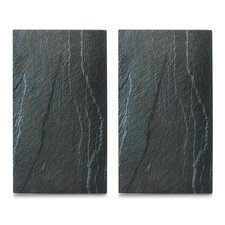 2-Piece Slate Hob Cover and Cutting Board Set (Set of 2)