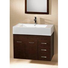Modular Bella 32 Single Wall Mount Bathroom Vanity Set by Ronbow