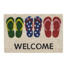 Ruco Print Welcome Message Doormat