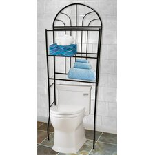Space Saver 24.4 W x 68 H Over-the-Toilet by Home Basics