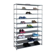 50-Pair 10-Tier Shoe Rack