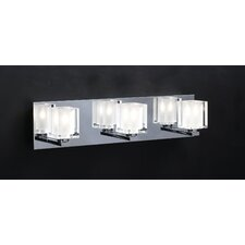 Glacier 3-Light Vanity Light
