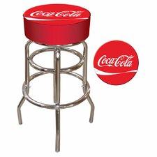 "Coca Cola 31"" Swivel Bar Stool"