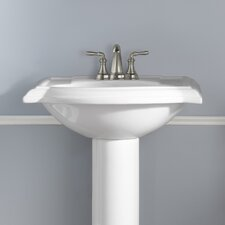 "Devonshire 23"" Pedestal Bathroom Sink"