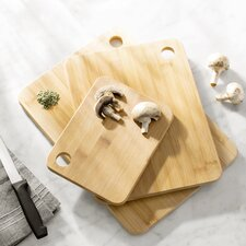 Wayfair Basics 3 Piece Cutting Board Set