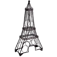 Eiffel Tower 6 Bottle Tabletop Wine Bottle Rack by Home Essentials and Beyond