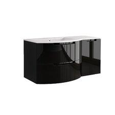 Oasi 53 Single Right Side Cabinet with Shelf Vanity Set by LaToscana