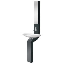 La Fontana Full Column Bath 9 Wall mount Bathroom Sink by LaToscana