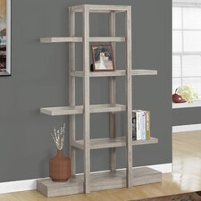 Richmond 71 Accent Shelves Bookcase by Monarch Specialties Inc.