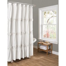 Victoria Lily Shower Curtain