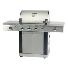 Platinum 600 Deluxe Gas Barbecue with Side Burner and Searing Burner