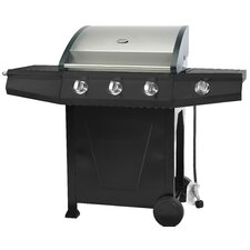 Classic 300 Gas Barbecue with Hood and Side Burner
