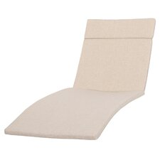 Cara Outdoor Chaise Lounge Cushion (Set of 2)