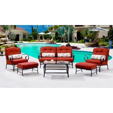 Oceana 6 Piece Deep Seating Group with Cushions by Hanover