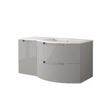 Oasi 43 Single Left Side Cabinet with Shelf Vanity by LaToscana