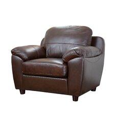 Riegel Dark Brown Arm Chair by Red Barrel Studio