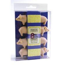 4-tlg. 8- tlg. Maiskolbenset Schwein