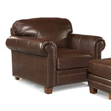 Hillsboro Leather Club Chair by Palatial Furniture