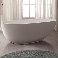 VersaStone 67 H x 34 W Soaking Bathtub by Avanity