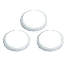 Santo 5.5cm LED Under Cabinet Puck Light (Set of 3)