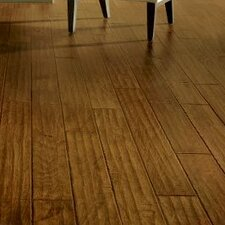 "5"" Engineered Hickory Hardwood Flooring in Spice Tint"