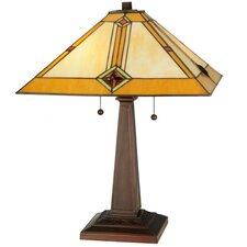 """Diamond Mission 22"""" Table Lamp"""