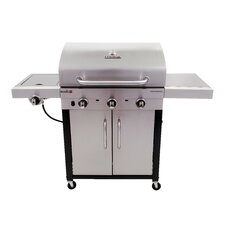 Performance 3-Burner Propane Gas Grill with Cabinet