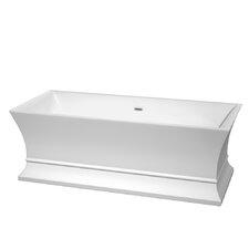 Jamie 67 x 30 Soaking Bathtub by Wyndham Collection