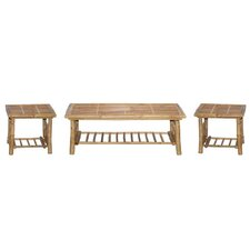 3 Piece Coffee Table Set by Bamboo54