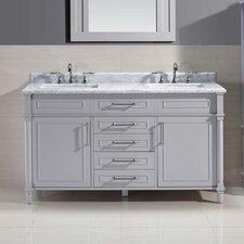 Ani 60 Double Bathroom Vanity Set by Ari Kitchen & Bath