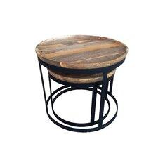 Kota Rosera 2 Piece Nesting Tables by Gild