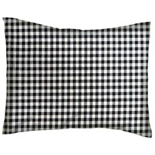 Gingham Check Cotton Percale Pillowcase