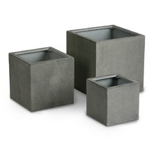Rockall 3 Piece Rectangular Planter Box Set
