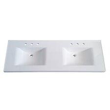 """Premier 61"""" Double Bathroom Vanity Top"""