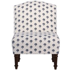 Perkins Cotton Side Chair by Alcott Hill