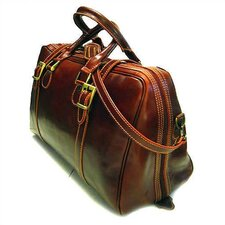 "Trastevere 18"" Leather Travel Duffel"