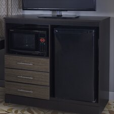 Deco Combination Mini Refrigerator and Microwave Chest by Lang Furniture
