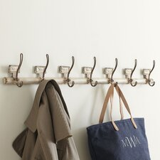 Rustic Numbered Coat Hooks
