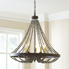 Marinette 5-Light Candle-Style Chandelier