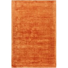 Gelco Hand-Woven Orange Area Rug