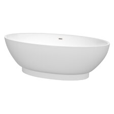 Helen 70.5 x 30 Soaking Bathtub by Wyndham Collection