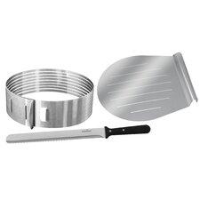 Zenker 3 Piece Layer Cake Slicing Kit Set