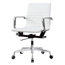 Vegan Leather Desk Chair